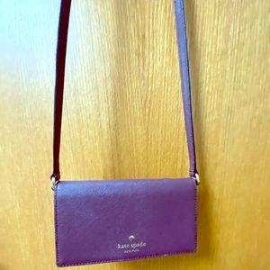 Kate Spade crossbody wallet/cell bag.
